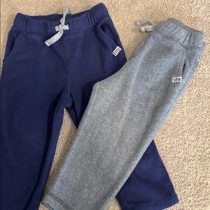 2 Pairs of Carter's Fleece Sweatpants